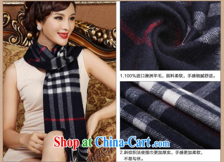 Shanghai Story scarves spring classic grid gross lamb wool scarf 2014 new unisex winter purple pictures, price, brand platters! Elections are good character, the national distribution, so why buy now enjoy more preferential! Health