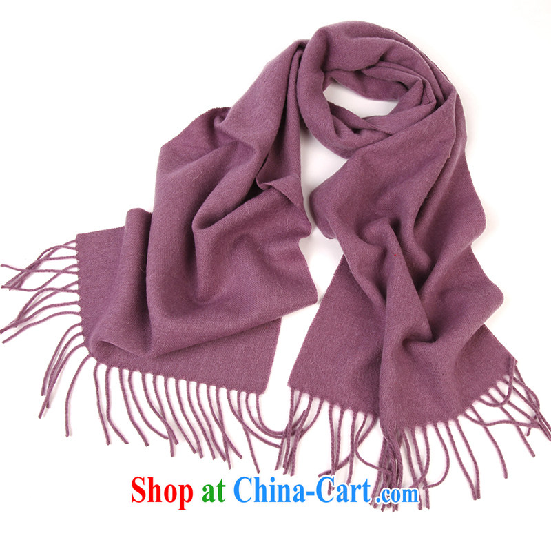 Shanghai Story scarves spring classic grid gross lamb wool scarf 2014 new unisex purple winter