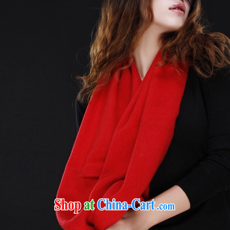 Phuket, cashmere authentic Chinese red wool autumn and winter warm thick, scarves shawls wool definition library