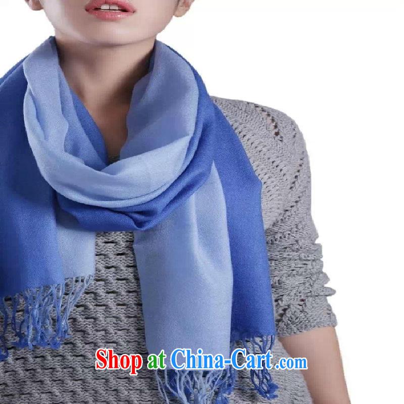 Phuket, cashmere special rewards to Korean classic wool La Serene, fade color flow, scarves shawls M A 058 21