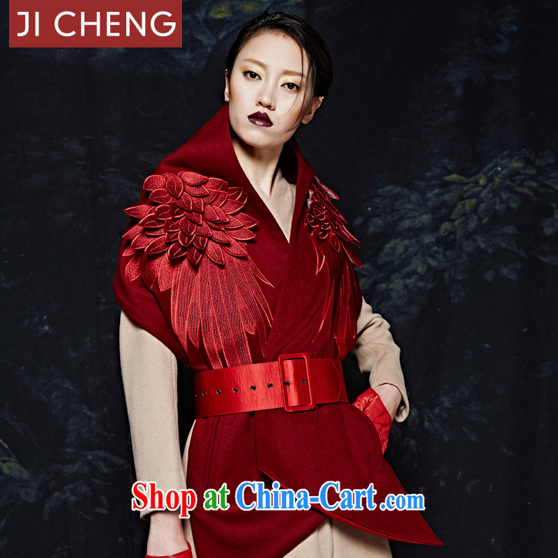 Gil-seung_jicheng Christmas-adult wings scarf parent-child Limited Edition pashmina shawl red