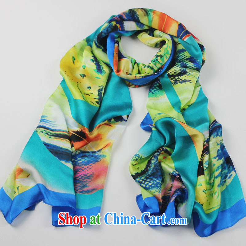 Water small, 2015 new stamp silk 100% sauna silk silk scarf shawl scarf silk gift and classy towel dream color rings, red, water, small, (shuishangxiaoyou), online shopping