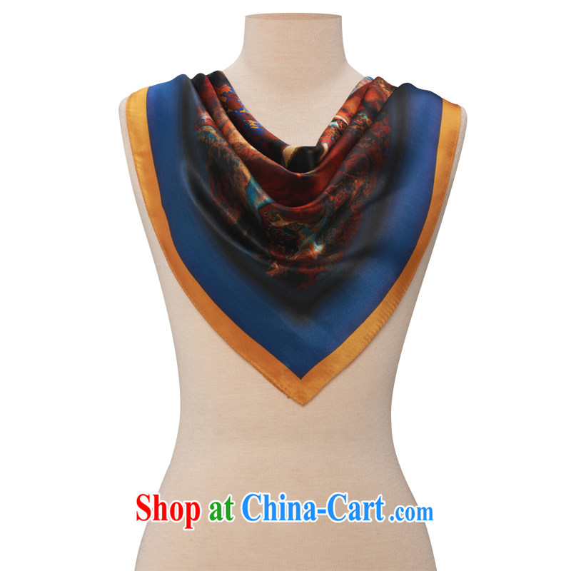 and his brother women 100 stamp duty on silk cloth silk scarf scarves, exotic