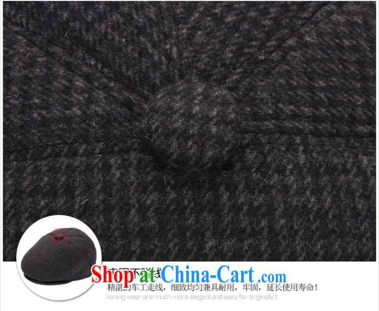 Older persons in hat man in winter old hat men and autumn and winter hat winter hat old hat man hat classic dark gray 60 CM pictures, price, brand platters! Elections are good character, the national distribution, so why buy now enjoy more preferential! Health