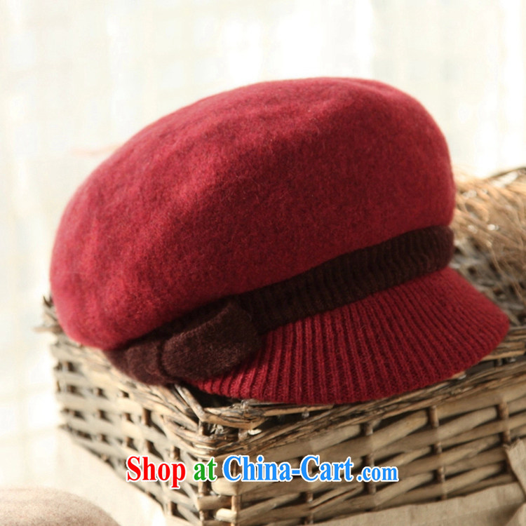 2015 new, autumn and winter 100% wool warm hat wool is a soft short canopies hat MZ 070 dusk - Red pictures, price, brand platters! Elections are good character, the national distribution, so why buy now enjoy more preferential! Health