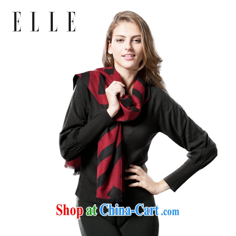 Ms. ELLE winter scarves sauna silk simple Korean couples scarf red