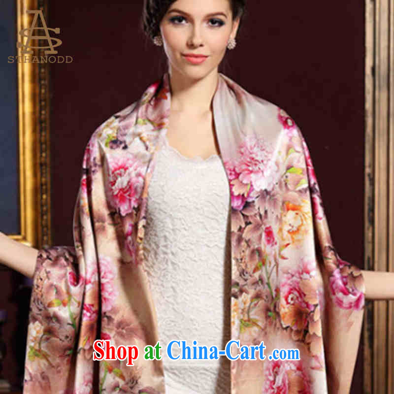 Well-known international brands than the casual New Silk, stylish and high class shawl scarf comfortable thin stamp color, than the Nokia (STHANODD), shopping on the Internet