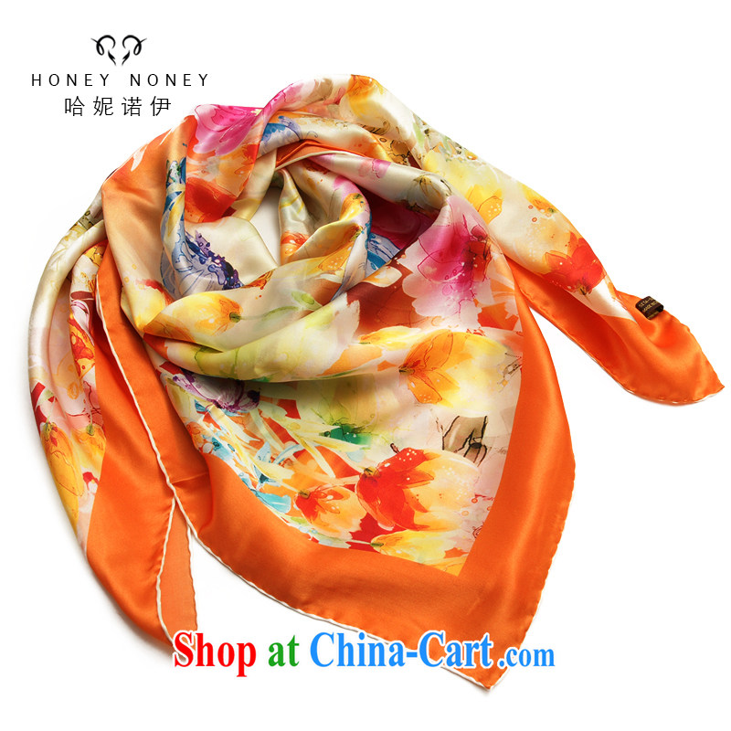 The Connie, The 2015 gift silk scarf and classy female sauna silk silk scarf butterflies, flowers butterflies, flowers