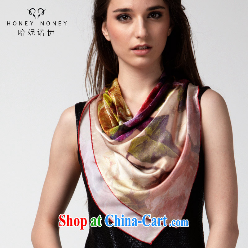 The Connie, spring, new, genuine sauna silk 100 a silk scarf, a gift and classy towel blooming to blooming to drop