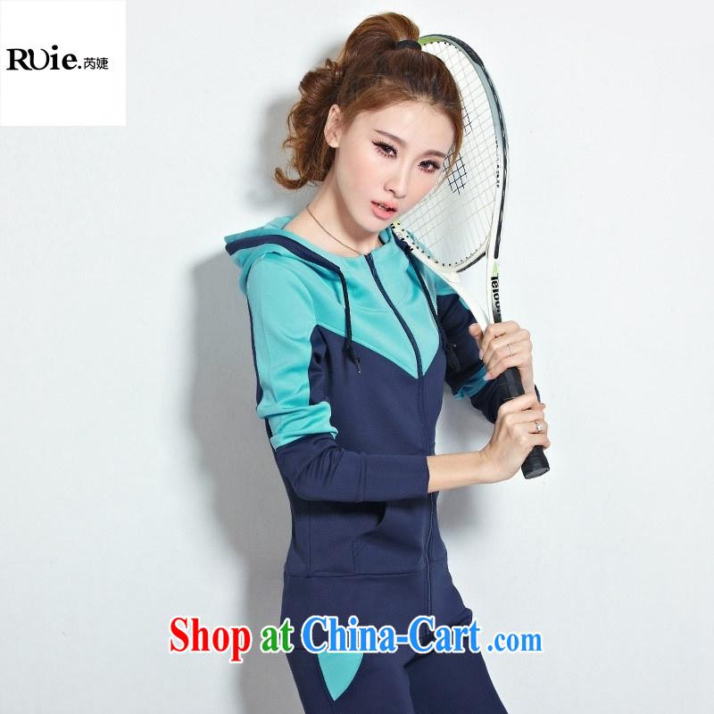 2015 spring new female Korean explosive stylish Sports _ Leisure sweater kit