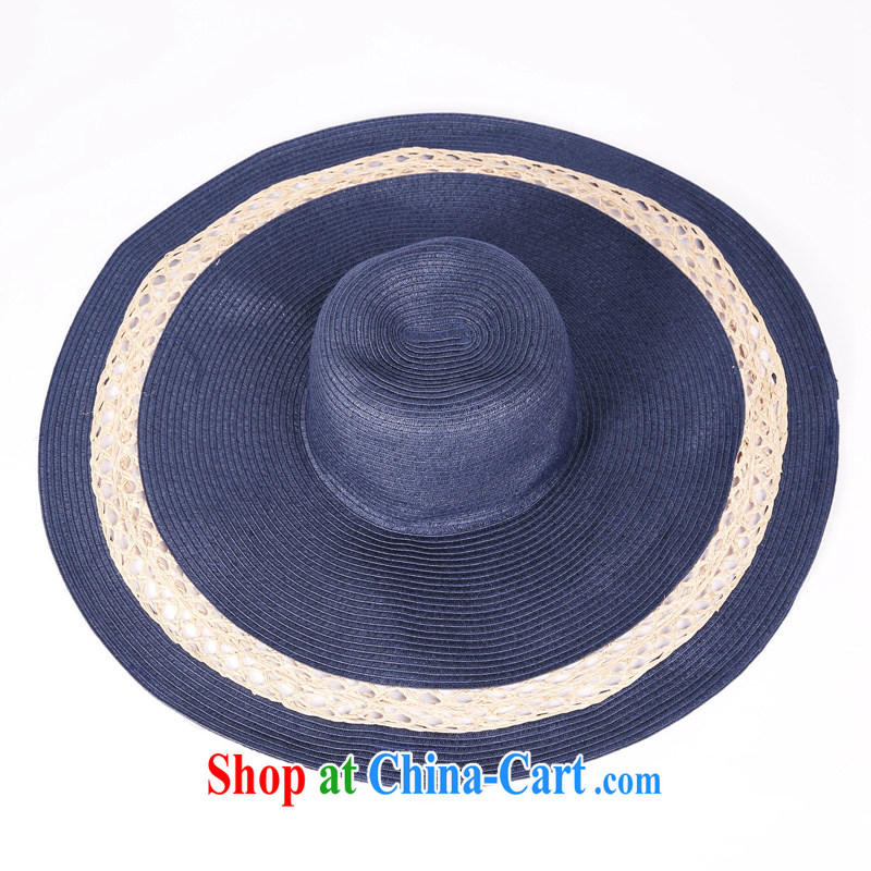 Podcast 2015 summer counters and stylish wide down , straw hat girls BPH 2 MX B 0923 20 lightning blue M