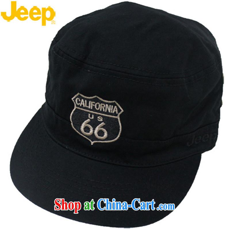 Jeep jeep hat 66 road ID Black flat top cap 10 GS AD Z 207 9 60 CM/54