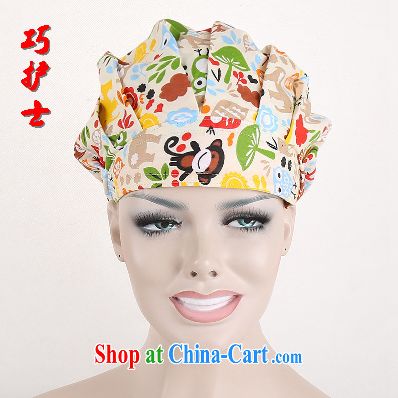 Nurses are becoming increasingly popular with cotton surgical cap shaggy cap pet hospital doctor cap dental cap