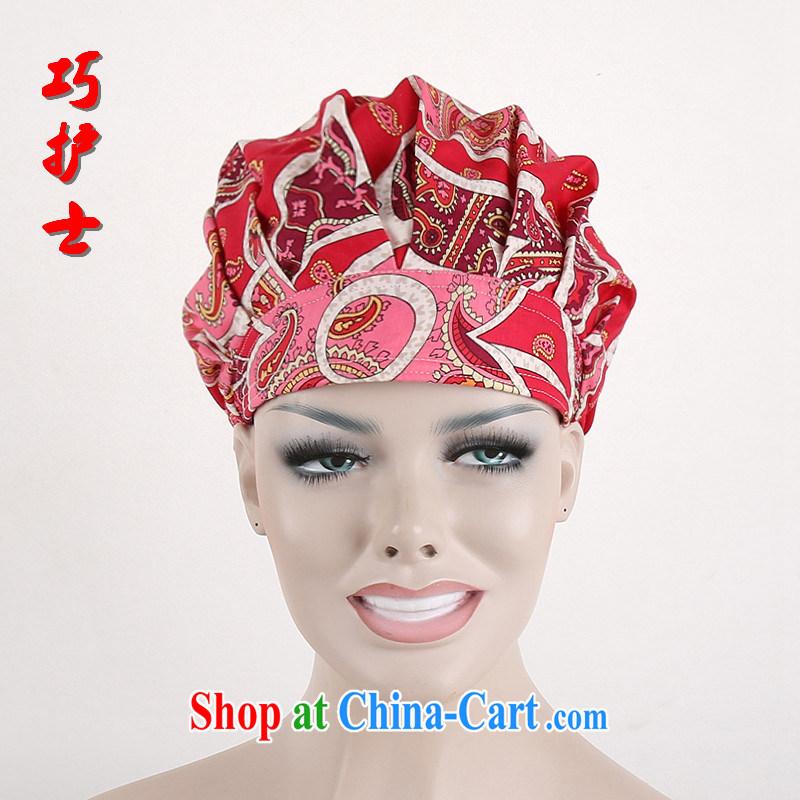 Nurses are red rose cotton surgical cap shaggy nurses cap dental cap women home cap