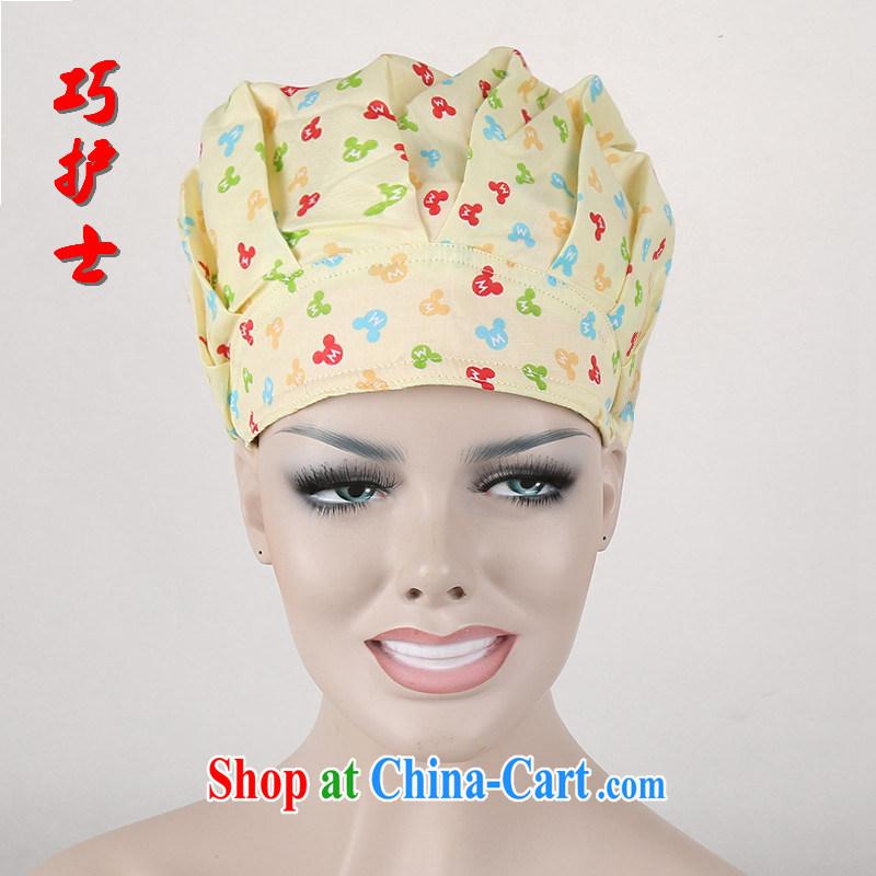 Nurses are nurses cap health cap chef hat cotton reactive dyeing hair length applicable shaggy cap the CAP food textile dust cap