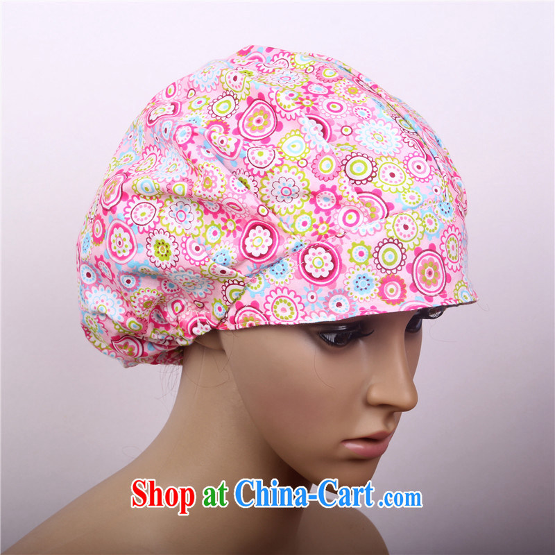 Cotton stamp duty shaggy cap surgical cap and Nurses operating room doctor cap beauty therapists who cap home cap food working cap toner sea of flowers, nurses, and, on-line shopping