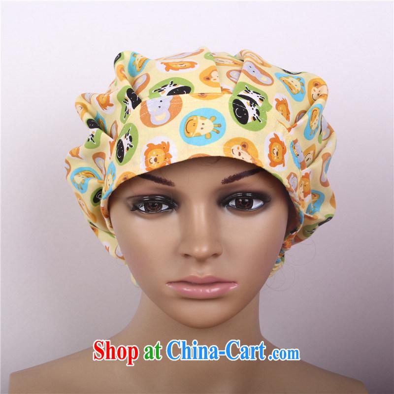 Nurses are cows cotton shaggy cap stamp surgical cap female doctors and nurses cap beautician cap ICU hospital anesthetist cap