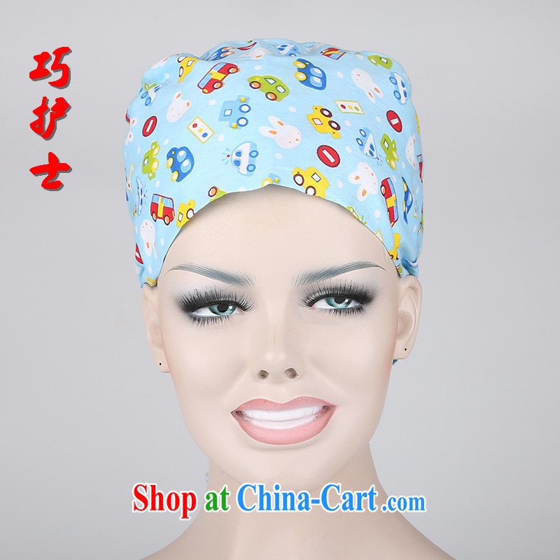 Nurses and surgical cap 512 doctors and nurses gifts section cotton stamp duty cap or laboratory work cap flower hat