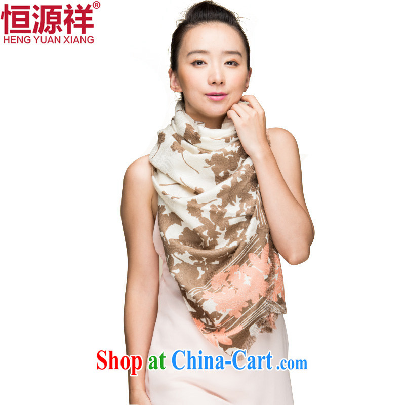 HANG SENG Yuen Cheung-New Silk hair scarf winter warm stamp duty Korean shawl large thick air-conditioned room scarf 7 _