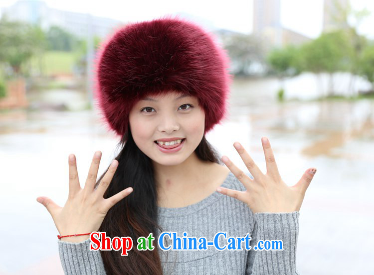 New winter hat men and women the fox fur grass hat fall winter the rabbit hair dome Mongolia cap dark gray hair black tip pictures, price, brand platters! Elections are good character, the national distribution, so why buy now enjoy more preferential! Health