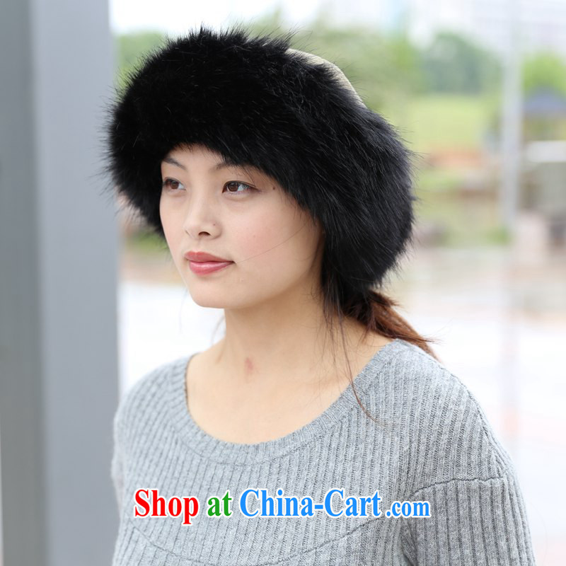 Mongolian Princess hat, a fox fur grass hat fall and winter fashion warm cap the gross Mongolia cap snow cap Uhlans on + Uhlans on gross, DS &1963, shopping on the Internet